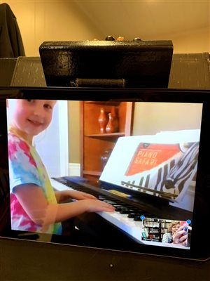 Zoom Piano Lessons!